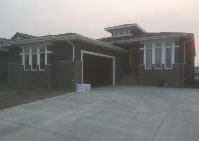 Brick work residential