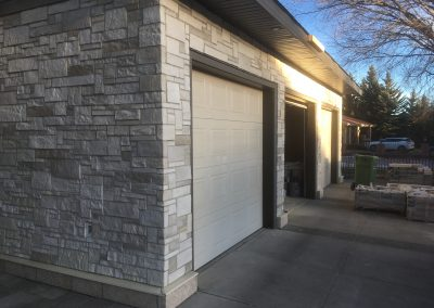 Residential stone install