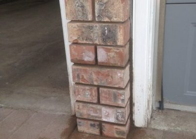 Brick repair residential