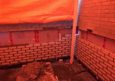 Commercial masonry brick work